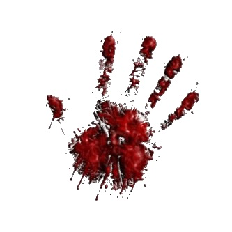 bloody hand icon792